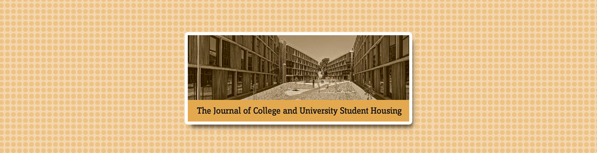 journal of college and university student housing